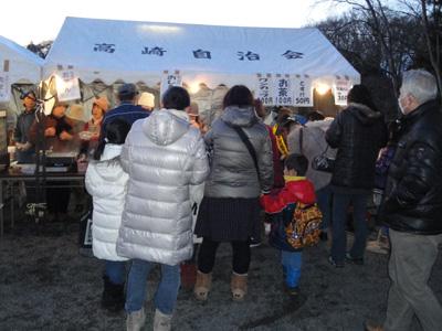 多賀神社どんと祭 高崎自治会設置の屋台